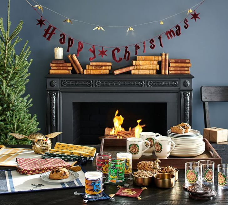 Pottery Barn S Harry Potter Holiday Collection For 2019 Popsugar
