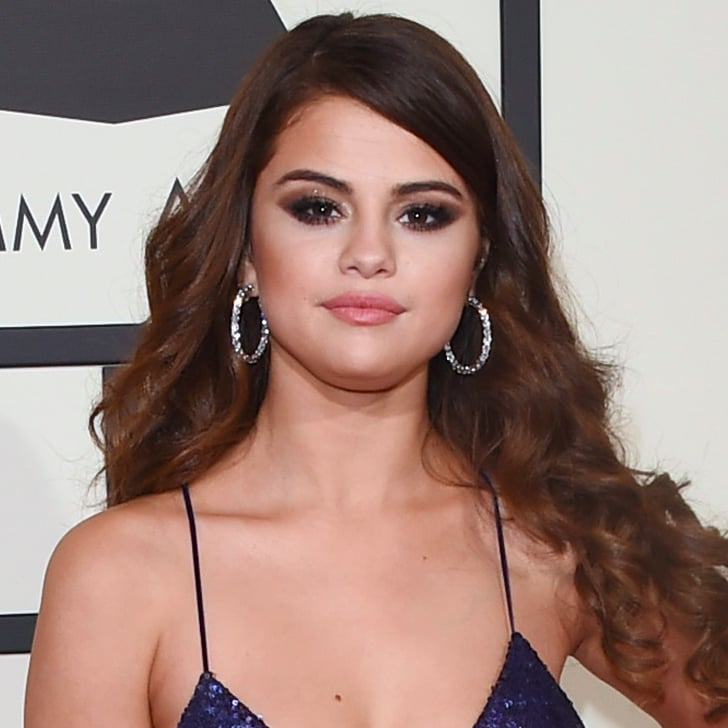 Selena Gomezs Hair And Makeup At The 2016 Grammy Awards