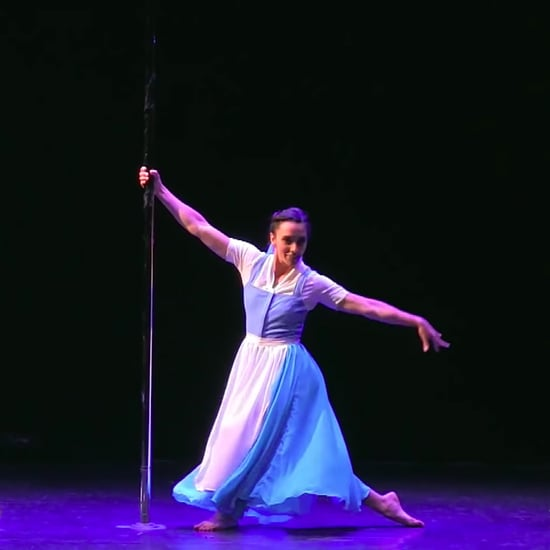 Beauty and the Beast Pole Sport Routine