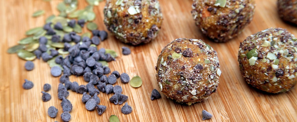Bite-Size Protein Balls to Satisfy Your Pumpkin Pie Cravings