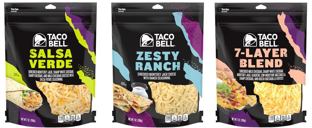 Where to Buy Taco Bell Shredded Cheese Blends