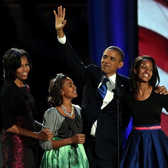 Barack Obama 2012 Election Acceptance Speech Pictures