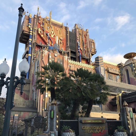 Disneyland Guardians of the Galaxy Ride at Halloween