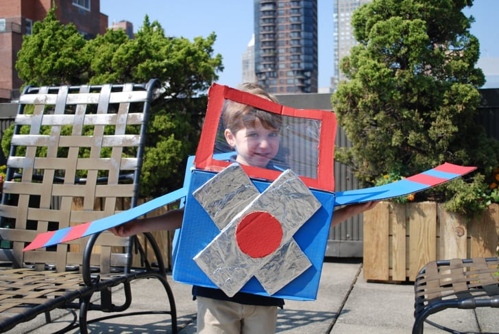 15 Halloween Costumes to Make From a Cardboard Box