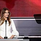 Joyce Beatty Wearing Same Dress as Melania Trump DNC 2016