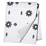 Black and White Embroidery Quilt ($50)