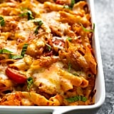 Chicken Caprese Pasta Bake