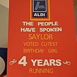 Mom Throws Daughter an Aldi-Themed Birthday Party — Photos
