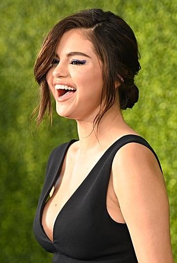 Selena Gomez Black Dior Dress We Day 2019