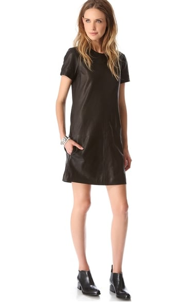 This Theory Leather Eliora L Dress ($732, originally $915) is a worthy investment piece.