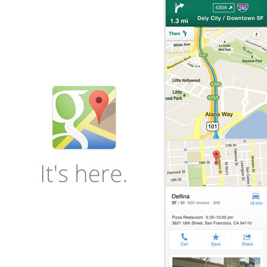 The Return of Google Maps