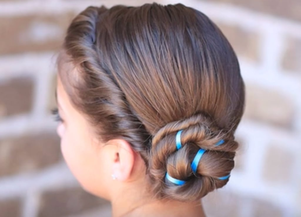 How To Do Your Hair Like Anna And Elsa From Frozen Popsugar Family