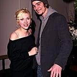 Scarlett Johansson et Josh Hartnett en 2004