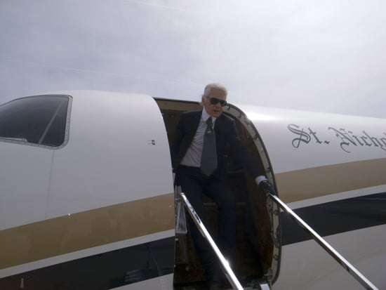 Karl Lagerfeld Has Landed in Venice, Others Soon to Follow