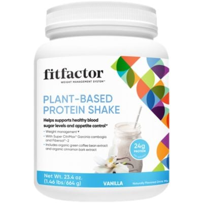 fitfactor Plant-Based Protein Shake - Vanilla