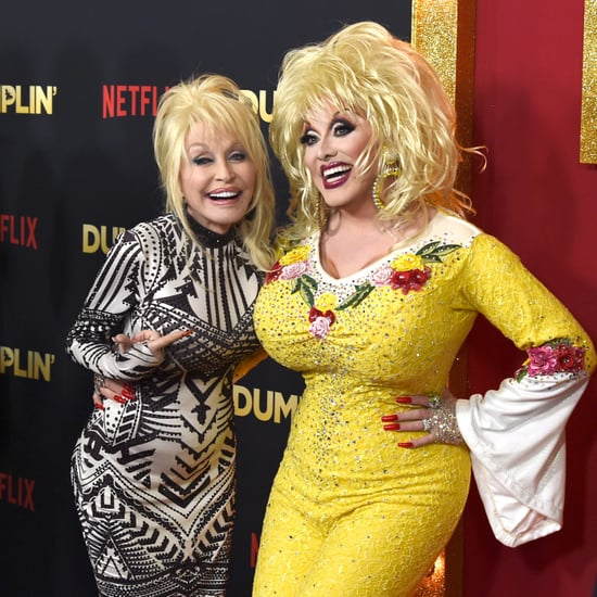 Dolly Parton With Drag Queen at Dumplin' Premiere