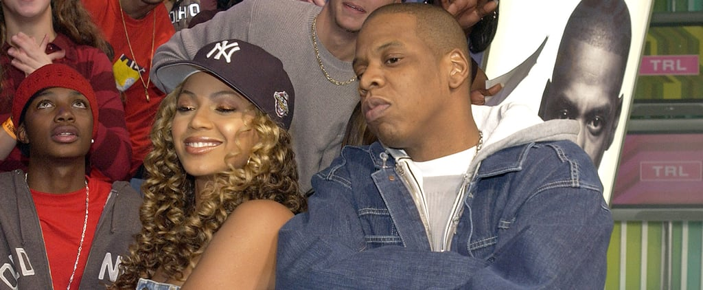 Beyonce and Jay Z on MTV's TRL in 2002 | Video