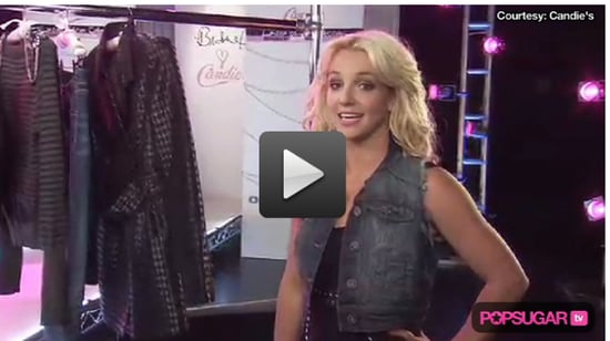 Video of Britney Spears Introducing Her Clothing Line For Candie's
