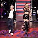 Gigi Joined Tommy Hilfiger on Stage For His Final Bow
