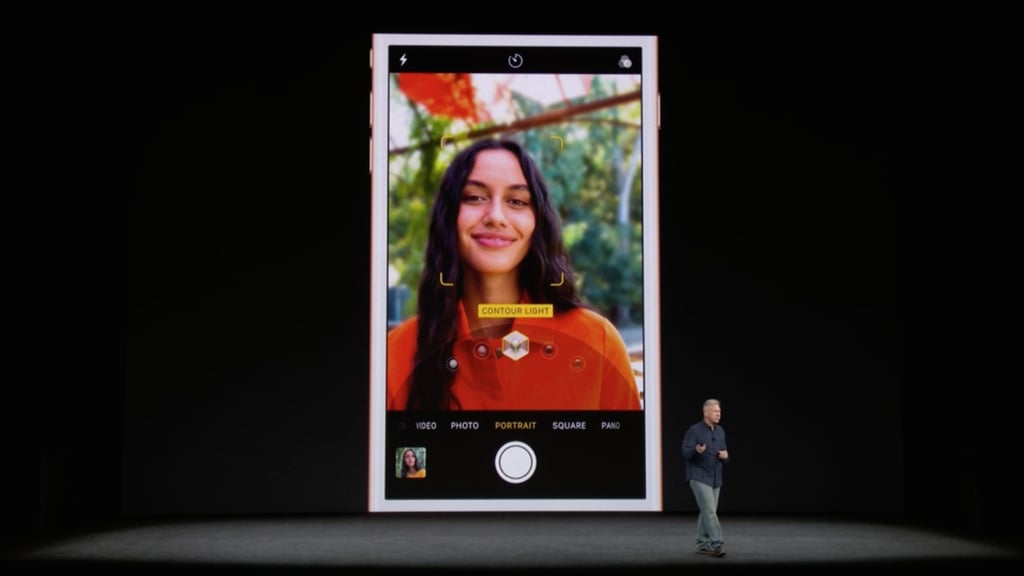 iPhone X Camera Details on Selfies and Portrait Lighting