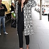Miranda Kerr Goes to a Meeting at David Jones