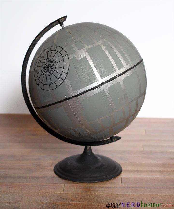 Death Star Globe Diy Star Wars Home Decor Popsugar