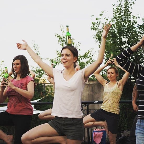 What Is Beer Yoga?