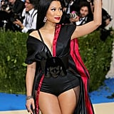 Nicki Minaj H&M Dress at the Met Gala 2017