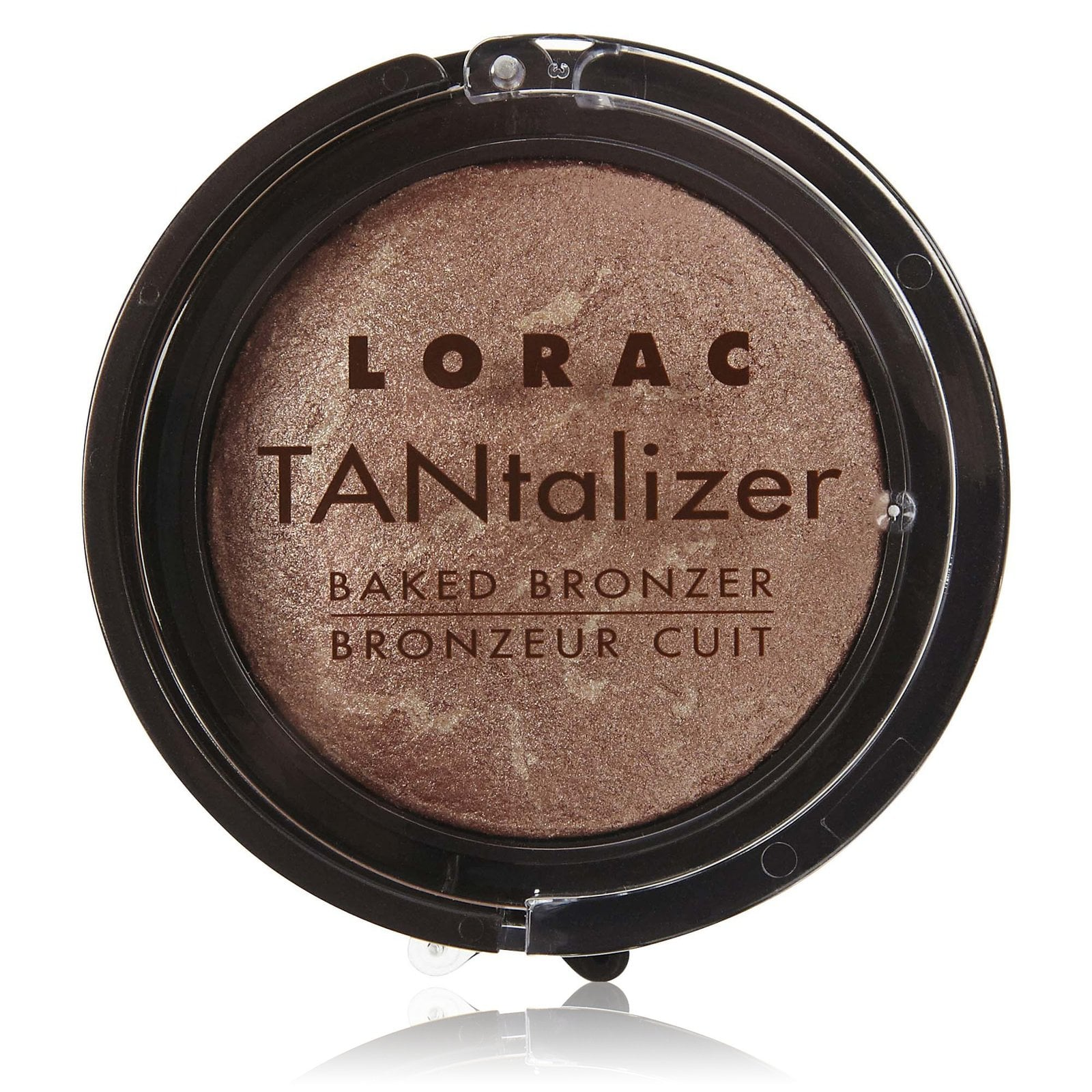 Suitable for face and body, Lorac Tantalizer Baked Bronzer ($8) can be your go-to all season.