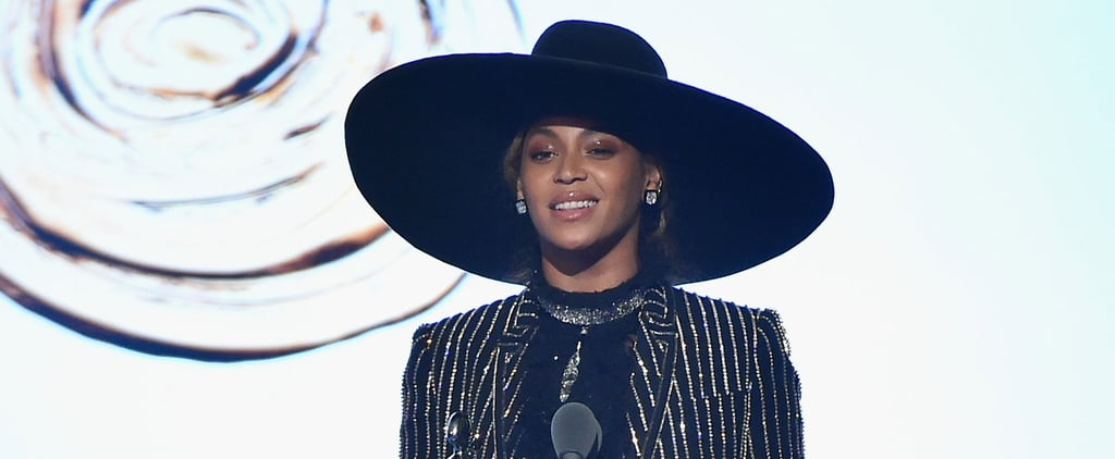 Beyoncé Showed Up Just in Time to Accept Her Icon of the Year Award in a Totally Legendary Look
