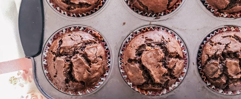 These Banana Chocolate Muffins Have Chocolate Hummus in Them