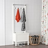 Hemnes Storage Bench With Towel Rail