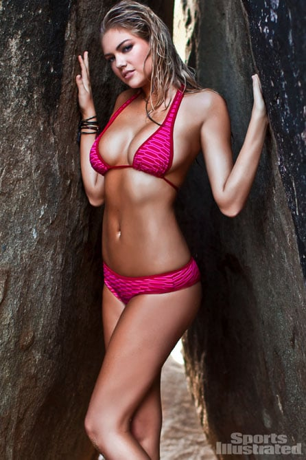 Kate Upton rocked a bikini for the 2012 Sports Illustrated Swimsuit Issue.