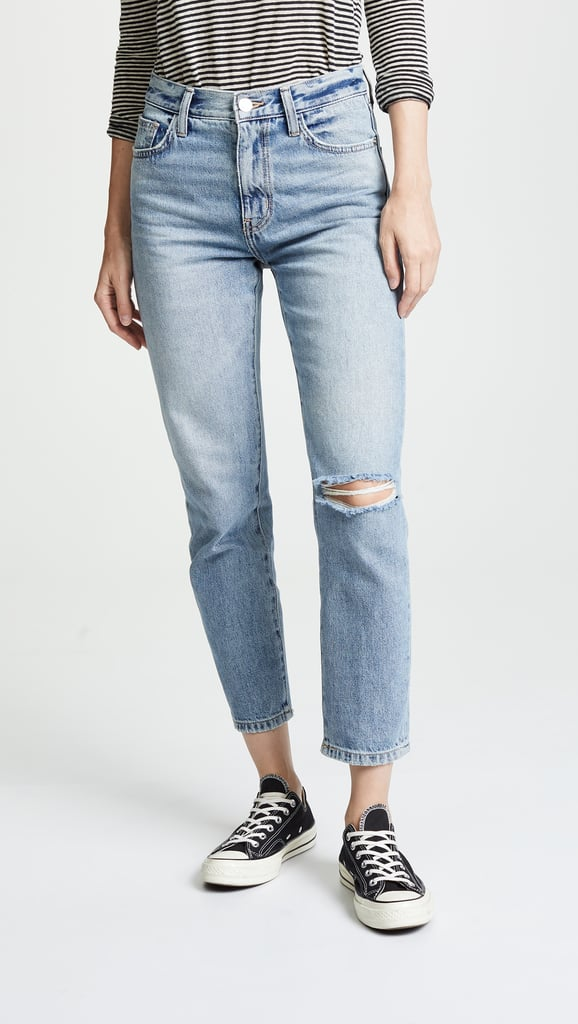 ce61190361f257 Current Elliott The Vintage Cropped Slim Jeans