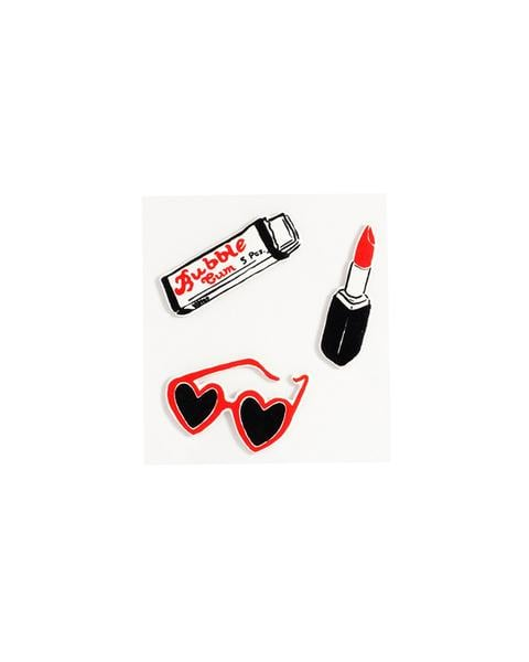 ban.do Plushie Sticker Set