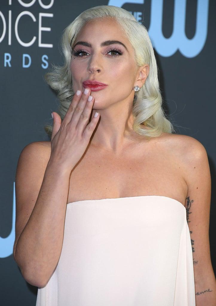 Lady Gaga at Critics' Choice Awards