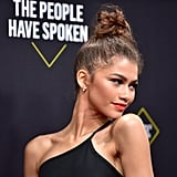 Zendaya's Topknot for the People's Choice Awards