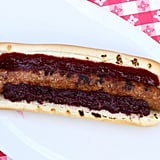 Spicy Sausage With Boysenberry Relish at Calico Saloon Stand