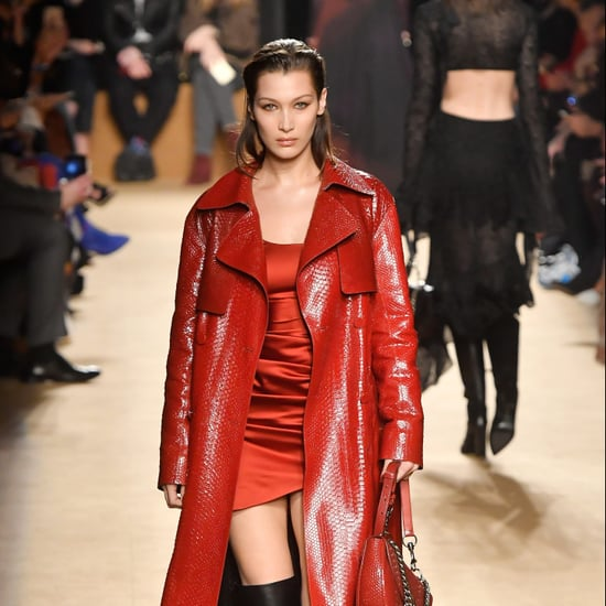 Bella Hadid at Fashion Week Fall 2018