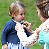 Princess Charlotte's Cutest Pictures in Canada 2016