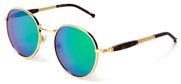 Wildfox Couture Dakota Metal Round Mirror Sunglasses, 54mm ($199)