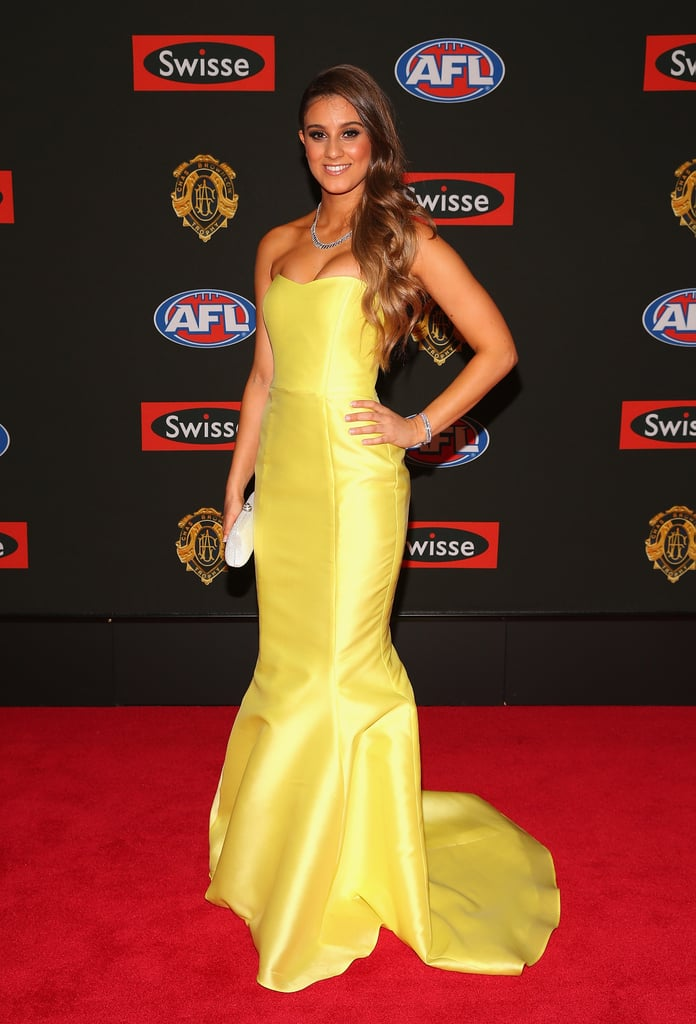 Elle Demasi the partner of Nic Naitanui of the Eagles.