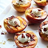 Brown Sugar Grilled Peaches With Ricotta