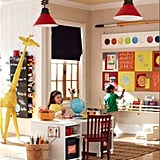 Though better suited for a playroom or classroom, the new Jumbo Paint Brush and Palette ($99 each) adds a fun and creative touch to the room. It's also a nice change from the frequently-used oversize pencil.