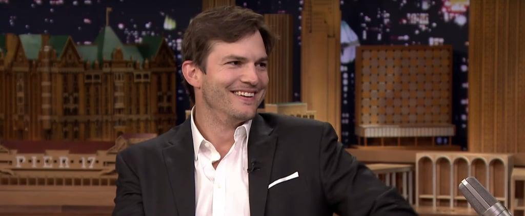 Ashton Kutcher on The Tonight Show September 2016