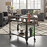 HomeSullivan Art Charcoal Bar Cart