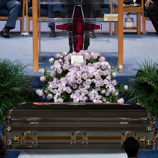 Aretha Franklin Funeral Pictures