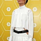 Lara Worthington Melbourne Cup Outfit Pictures 2018