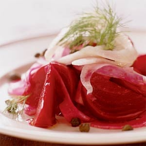 Valentine Side: Beet and Fennel Salad