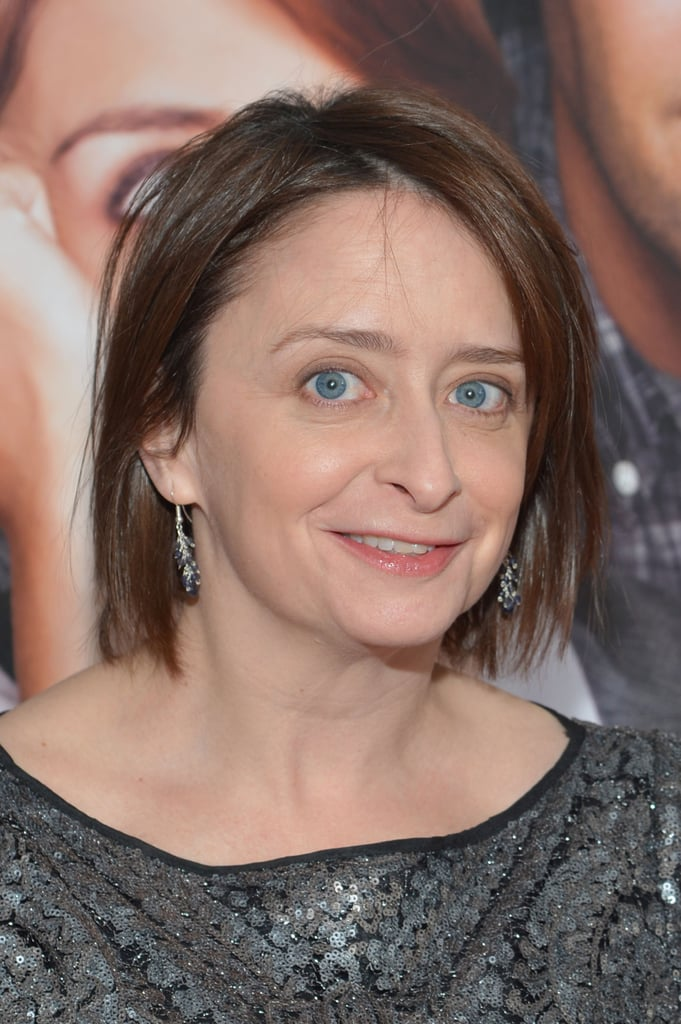 Rachel Dratch attended the premiere in a silver dress.